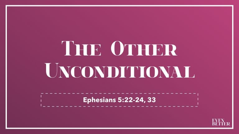 The Other Unconditional