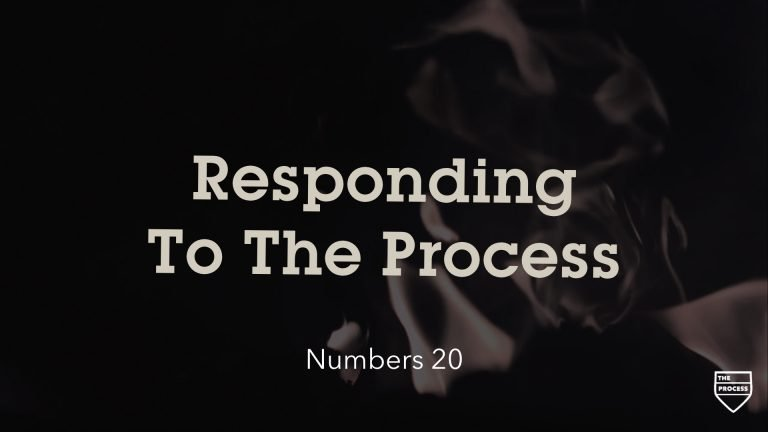 Responding To The Process