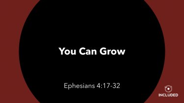 You Can Grow