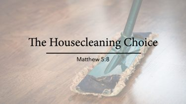 The Housecleaning Choice