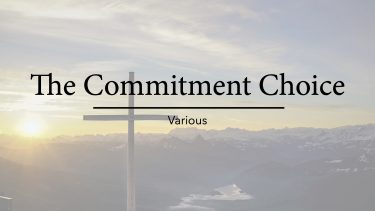 The Commitment Choice