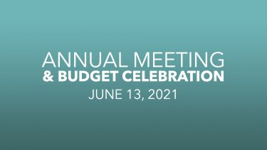 Annual Ministry / Budget Celebration Message